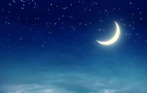 描写夜晚景色的句子