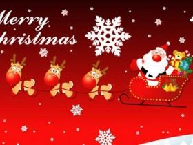 圣诞节的祝福